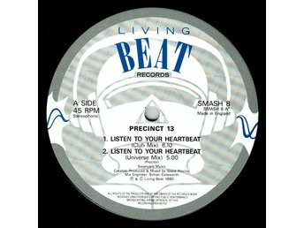"Precinct 13 – Listen to your heartbeat (Living Beat 12"")"