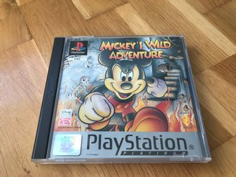 Mickeys Wild Adventure (platinum) Ps1