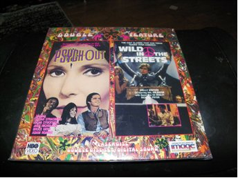 Psych Out - Wild in the streets - Double Feature 2st  Laserdisc
