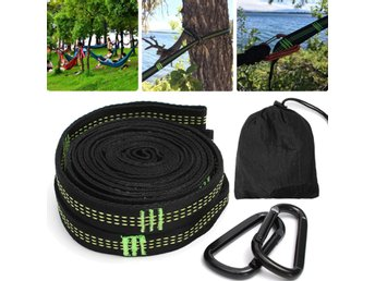 2Pcs 11.8 Inch  Hammock Strap Adjustable Suspension Tree ...