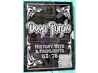 DVD  Hårdrock - Deep Purple - History, Hits & Highlights 68 - 76