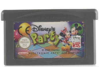 Disney's Party - Game Boy Advance