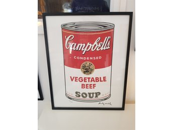 Andy Warhol Campbells Vegetable Beef Soup Numrerad