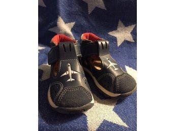 när har barn storlek 19 i skor