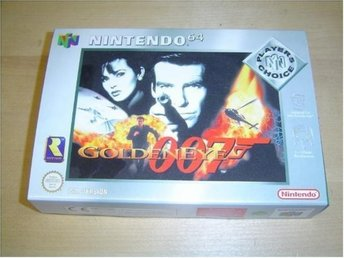 Golden Eye 007 Nintendo 64 N64 PAL Boxad Nyskick