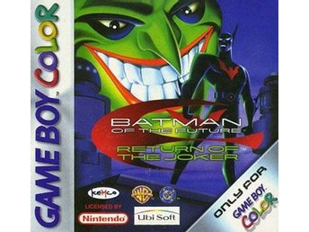 Batman of the Future: Return of the Joker - Gameboy Color