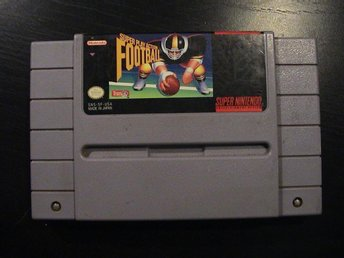 SUPER PLAY ACTION FOOTBALL / SUPER NINTENDO SNES / USA IMPORT
