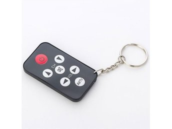 Mini Universal Infrared IR TV Set Remote Control Keychain Key Ring 7 Keys