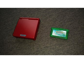 Gameboy Advance SP & Pokémon Emerald - Nyskick!