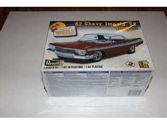 Revell Monogram 1/25 1962 Chevy Impala SS 2 in 1