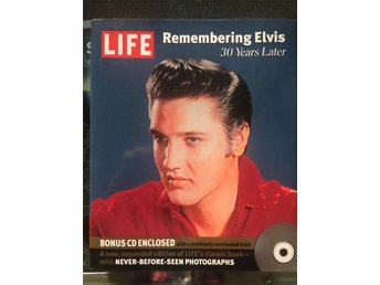 ELVIS PRESLEY, BOK, REMEMBERING ELVIS - 30 YEARS LATER INKL CD