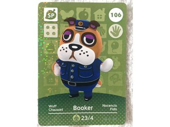 Animal Crossing amiibo kort Series 2 106 Booker