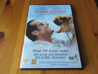 Livet från den ljusa sidan / As Good As It Gets (Jack Nicholson och Helen Hunt) - örebro - Livet från den ljusa sidan / As Good As It Gets (Jack Nicholson och Helen Hunt) - örebro