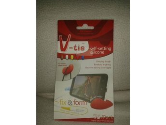 V-tie self-setting silicone