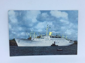 MS Stockholm Swedish American Line 1958