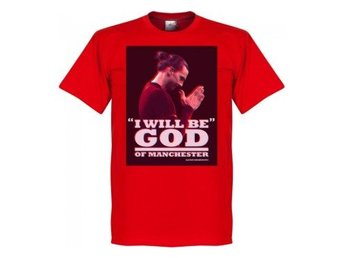 Manchester United T-shirt Zlatan God Röd M
