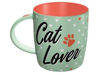 2- Pack Mugg 50-tal Cat Lover