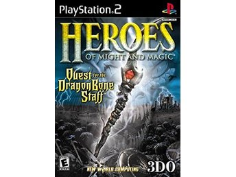 Heroes of Might & Magic - Quest for the Dragonbone Staff - Playstation 2 PS2