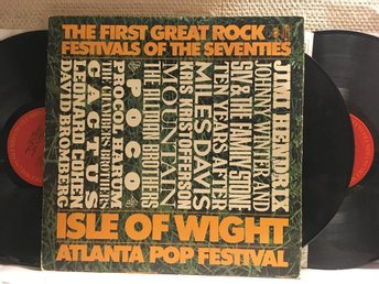 ISLE OF WIGHT - ATLANTA POP FESTIVAL - V/A - 3-LP