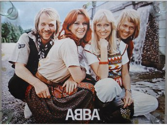 Big rolled Abba Poster -16-