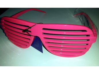 shutter shades glasögon rosa