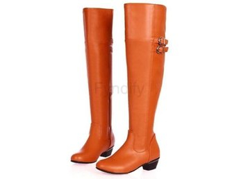 Dam Boots Equestrian Boot Footwear Shoes P9982 Orange 34