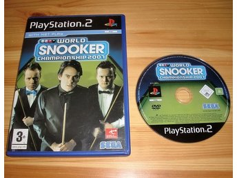 PS2: World Snooker Championship 2001