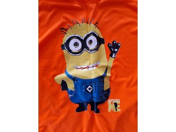 Minion t-shirt i orange
