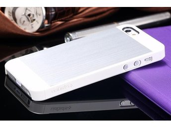 iPhone 5S / 5 Case Saturn - Satin Silver White