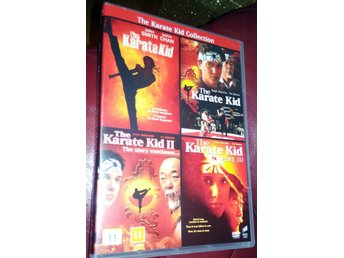 Karate kid Collection DVD Box Svensk text