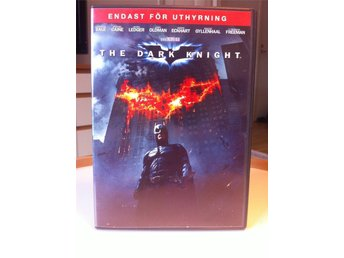 DVD - THE DARK KNIGHT (HEATH LEDGER/ CHRISTIAN BALE/ GARY OLDMAN/ MORGAN FREMAN)