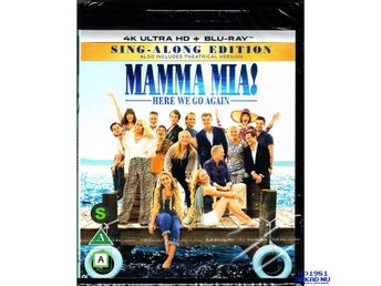 MAMMA MIA HERE WE GO AGAIN SING A LONG EDITION 4K ULTRA HD + BLU-RAY