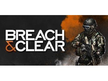 Pc spel: Breach & clear (Steam)