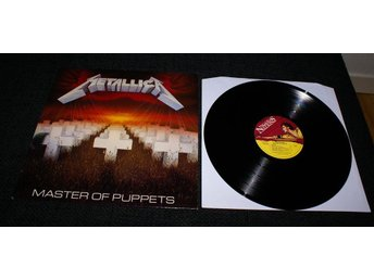 Metallica Master of puppets UK