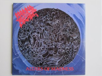 Morbid Angel – Altars of Madness (death metal vinyl LP, Earache)