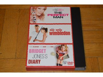 The Perfect Man - Wimbledon - Bridget Jones Diary - 3-Disc - DVD