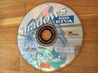 Shadows Over Riva - Realms of Arkania PC Spel Retro