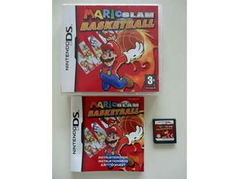 NINTENDO DS--MARIO SLAM BASKETBALL