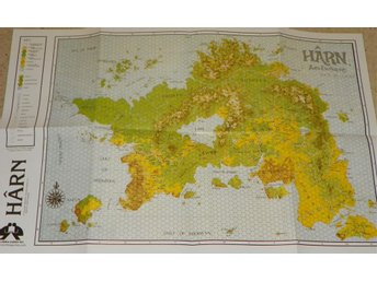 Map of Harn - Free RPG Day 2012