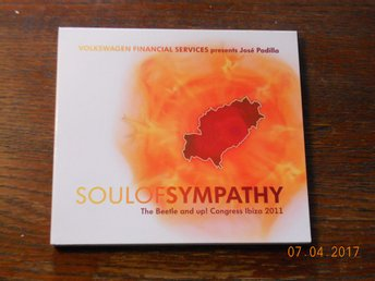 VOLKSWAGEN SOUL OF SYMPHATHY Congress Ibiza 2011 reklam CD med Lounge/Club musik
