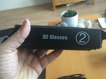 Samsung 3d sunglasses 2 par - Visby - Samsung 3d sunglasses 2 par - Visby