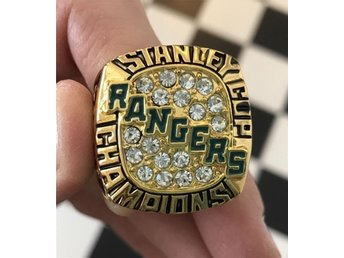 New York Rangers NY Stanley Cup ring 1994 Messier Lundqvist hockey ishockey