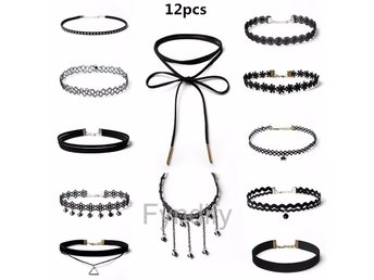 Halsband Set 12 Pieces Per Set