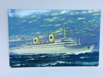 MS Gripsholm  Swedish American Line 1959