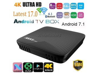 TV-Box M8S Pro Octa Core WiFi Full HD 4K Smart set TV Box 2G+16GB