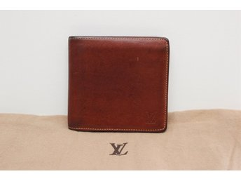 Louis Vuitton Multiple Wallet Nomade Leather (Mens Wallet LV Herr Plånbok)