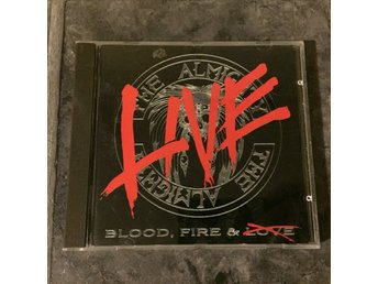 THE ALMIGHTY - BLOOD, FIRE & LIVE. (CD)