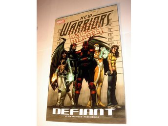 NEW WARRIORS  MARVEL USA   NY OLÄST    2008