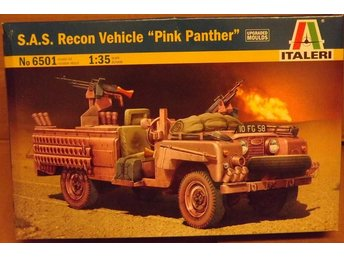 SAS RECON VEHICLE  PINK PANTHER   Italeri 1/35 Byggsats
