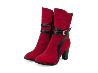 Dam Boots Fashion Office Work Footwear Shoes Red 34